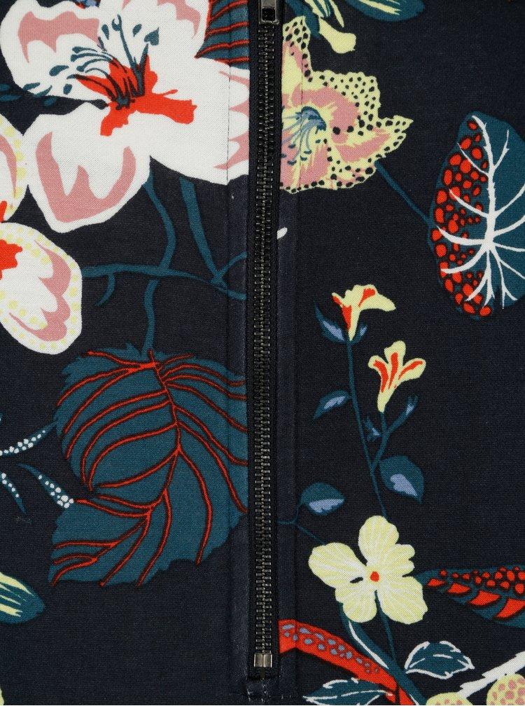 Rochie dreapta bleumarin cu print floral - VILA Tinny
