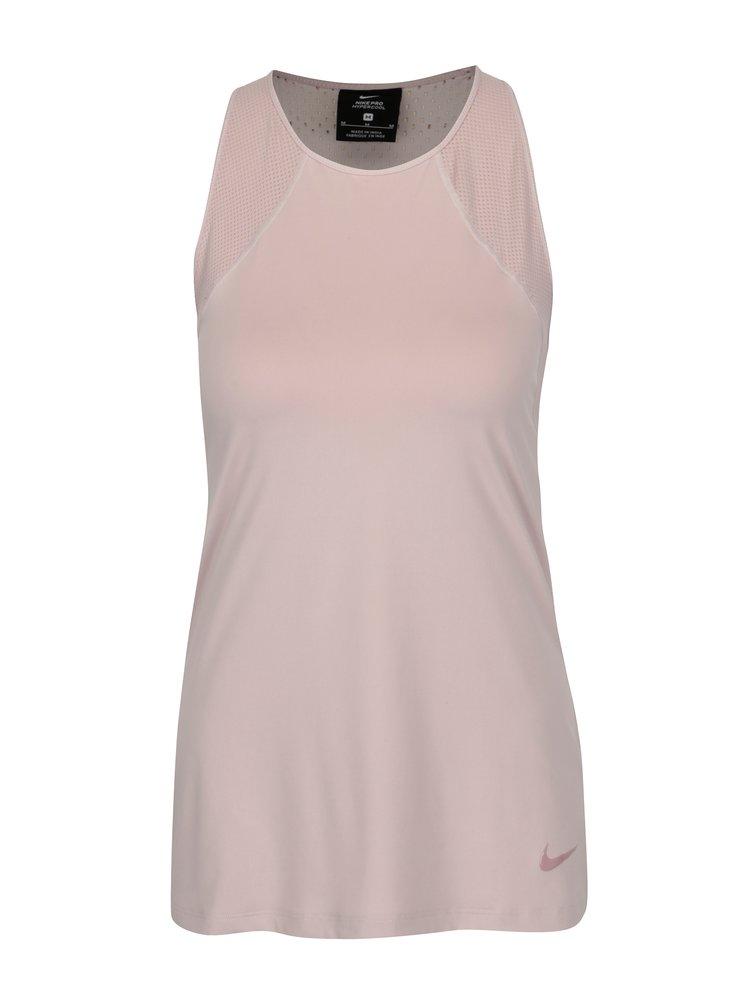 Růžové dámské funkční tílko Nike Hprcl Tank