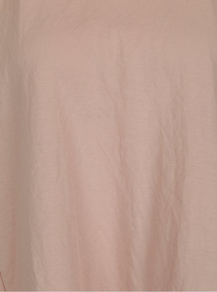 Starorůžové tričko VILA Rose