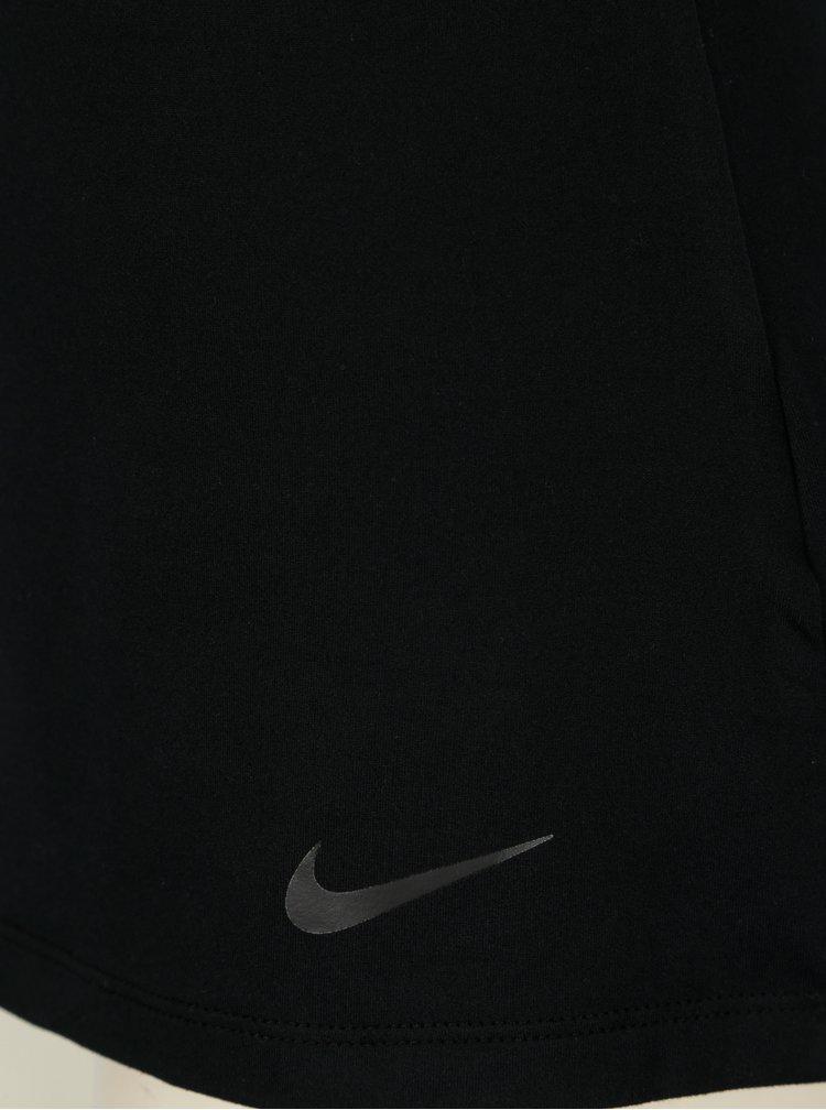 Černé dámské funkční tílko Nike Dry Tank