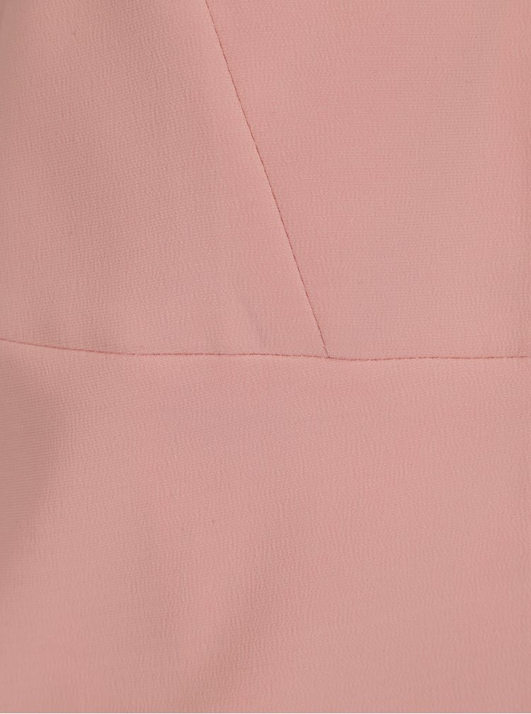Světle růžové sako se zvonovými rukávy VILA Mula