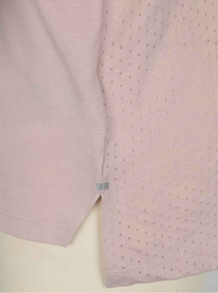 Tricou sport roz pentru femei Nike Tailwind
