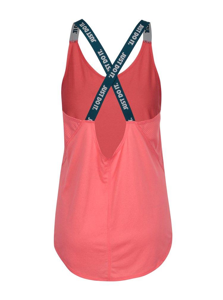Růžové dámské funkční tílko Nike Dry Tank Elastka