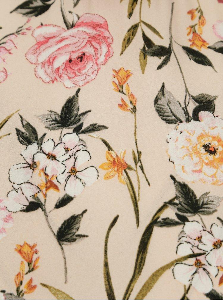Ružová blúzka s dlhým rukávom Dorothy Perkins Petite