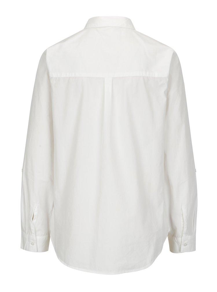 Bílá košile s výšivkou Dorothy Perkins