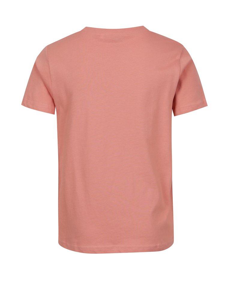 Růžové klučičí tričko s potiskem LIMITED by name it Victorro