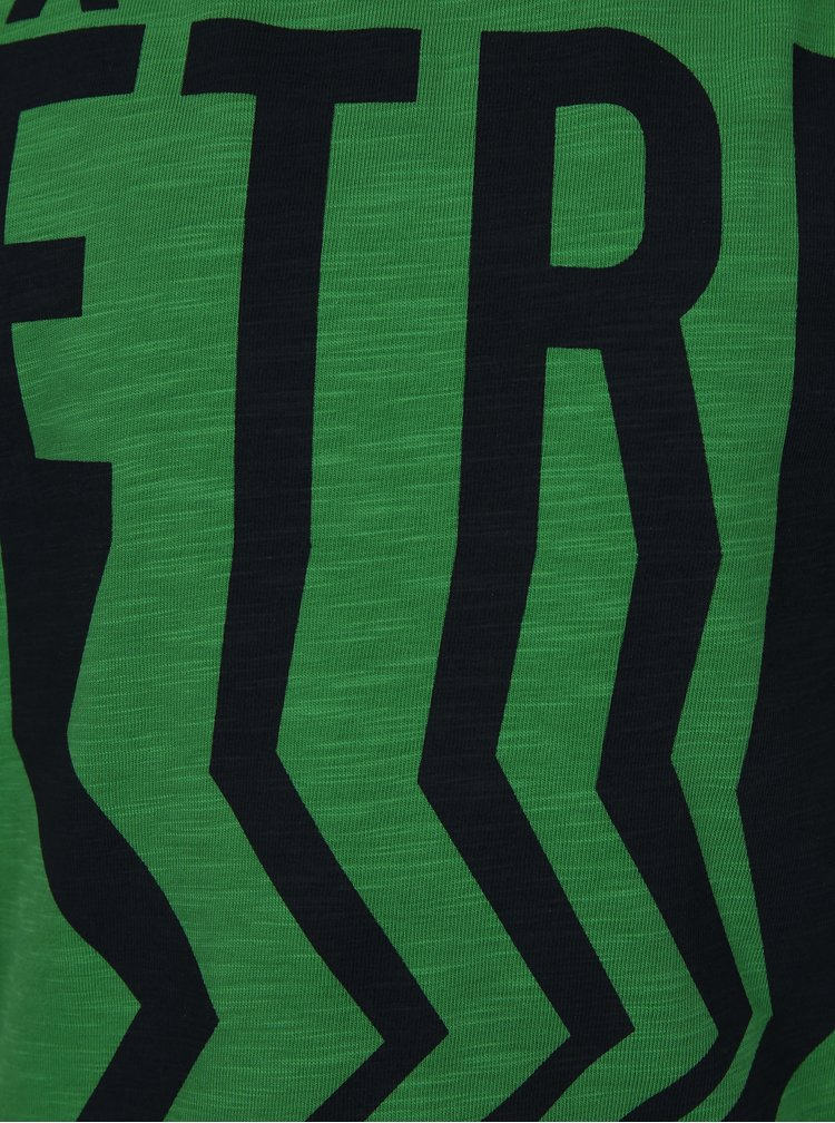 Zelené klučičí tričko s potiskem name it Finn