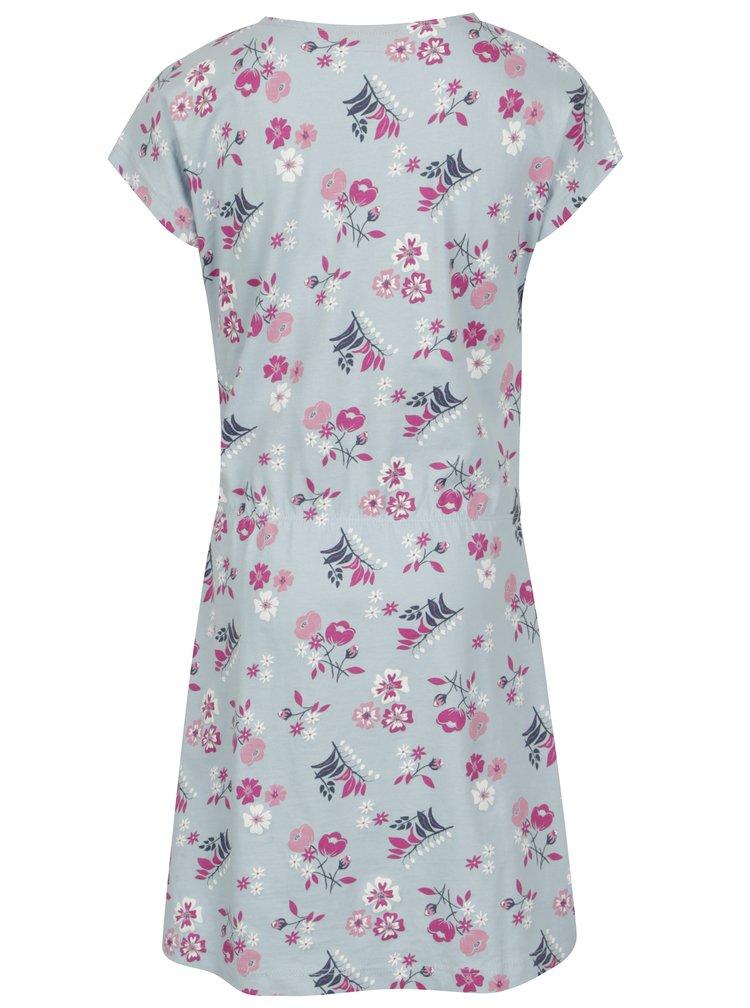Modré holčičí šaty s potiskem name it Viga