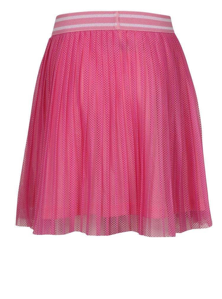 Růžová holčičí plisovaná sukně name it Iwtex
