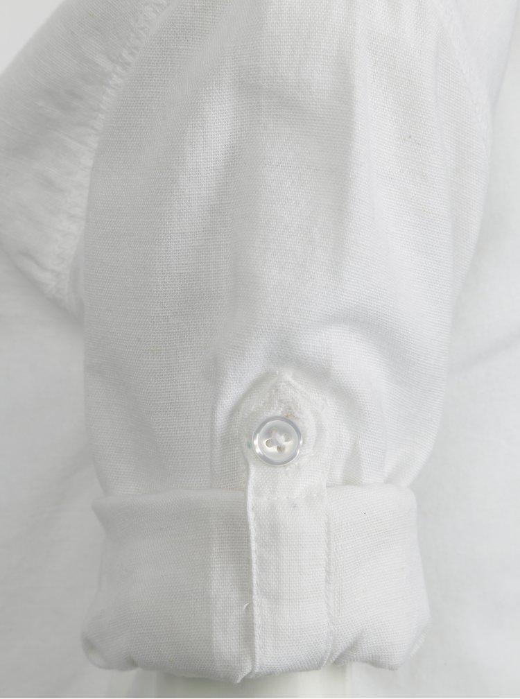 Bílá klučičí košile s dlouhým rukávem name it Mihebbe