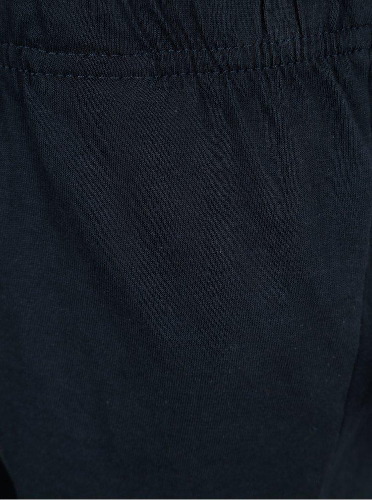 Krémovo-modré dvoudílné klučičí pyžamo name it Night