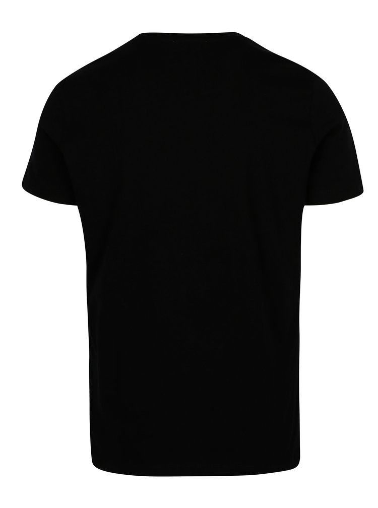 Černé pánské slim fit tričko Calvin Klein Jeans Tiboro