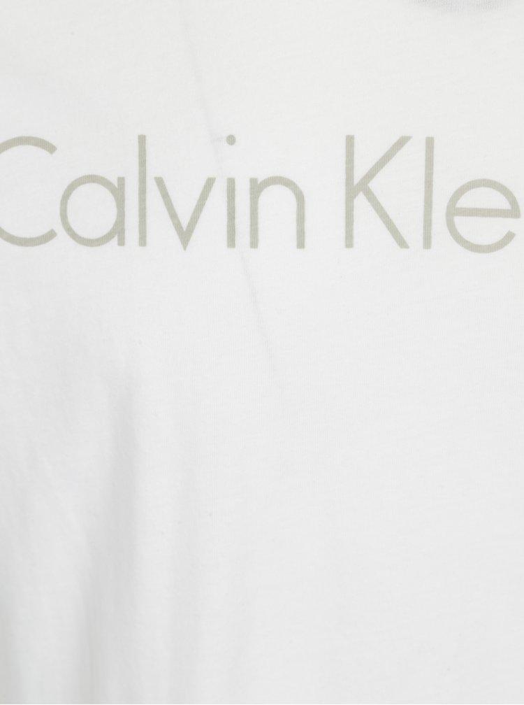 Bílé pánské slim fit tričko Calvin Klein Jeans Treasure
