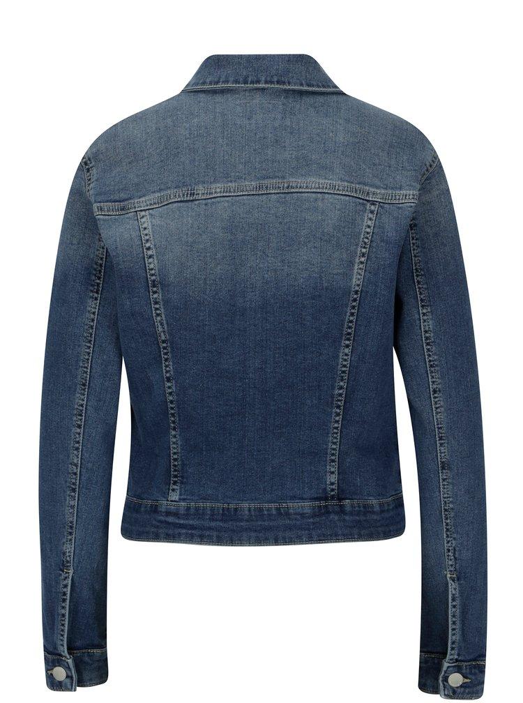 Modrá dámská džínová bunda s.Oliver