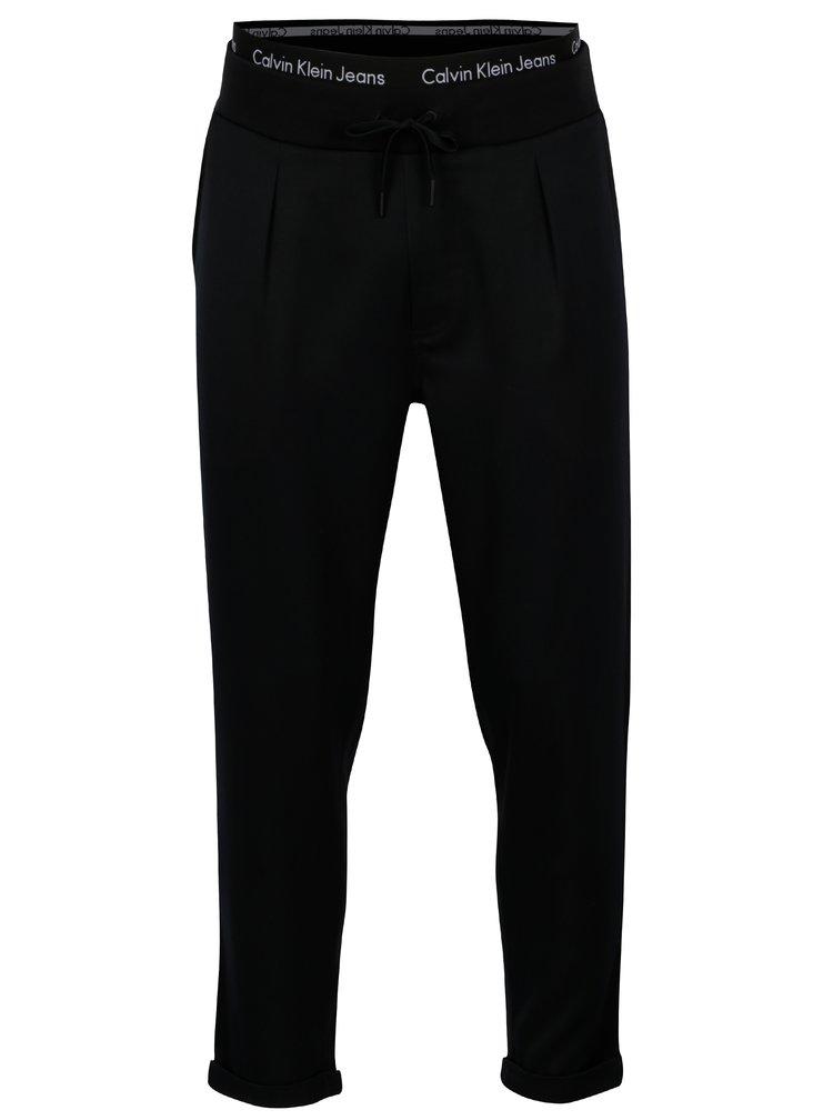 Černé pánské tepláky Calvin Klein Jeans Halfon