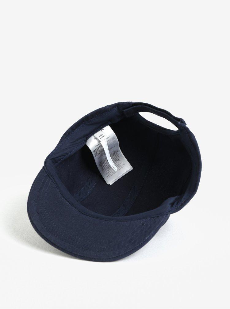 Tmavě modrá klučičí kšiltovka s nášivkou name it Mifrome