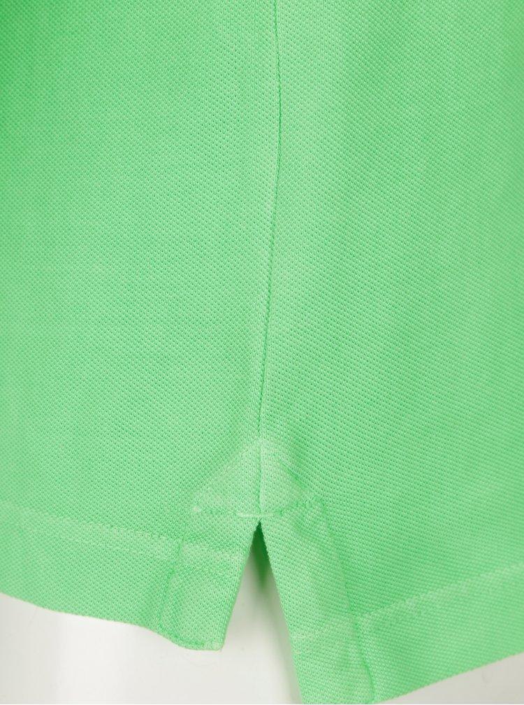 Neonově zelené pánské polo tričko Superdry