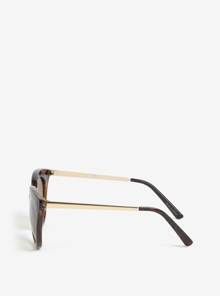 Ochelari de soare cu rame animal print - Pieces Ginna