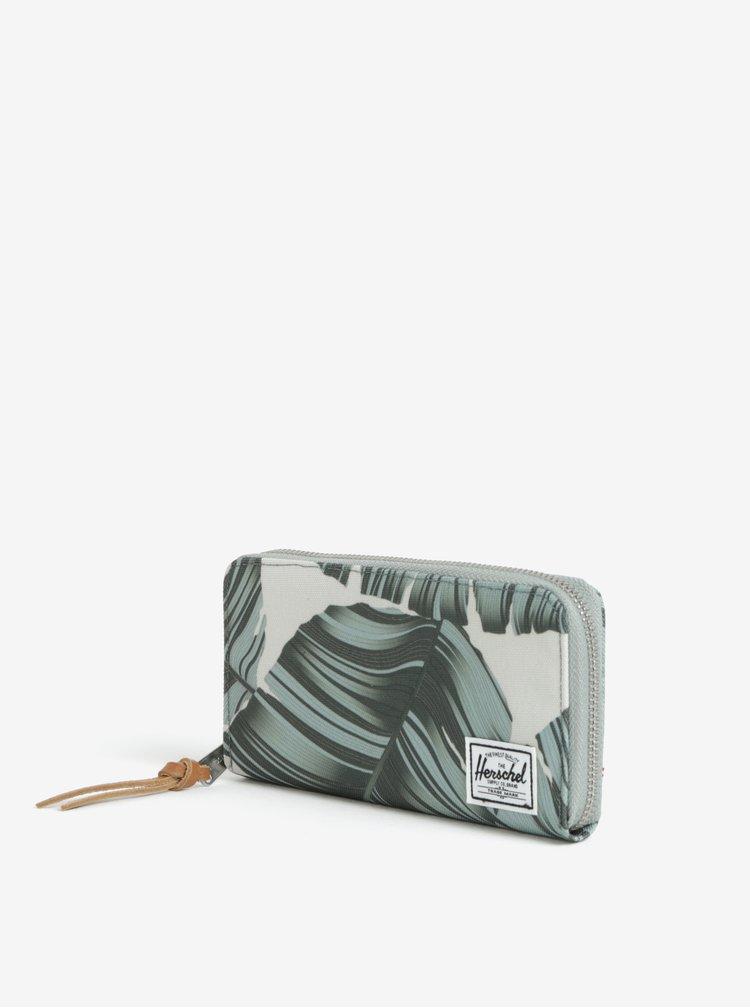 Béžová peněženka s potiskem Herschel Thomas