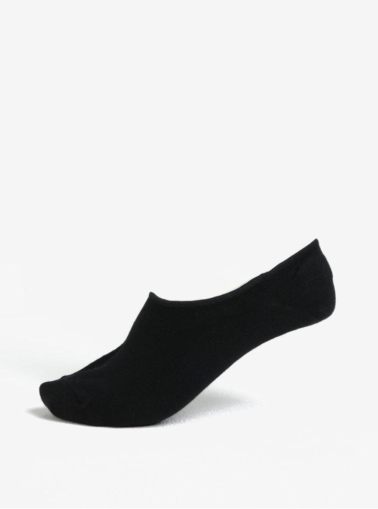 Černé nízké ponožky Jack & Jones Basic