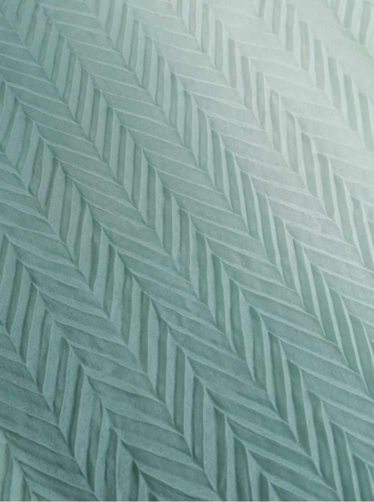 Zelená plisovaná šála Pieces Gyselle