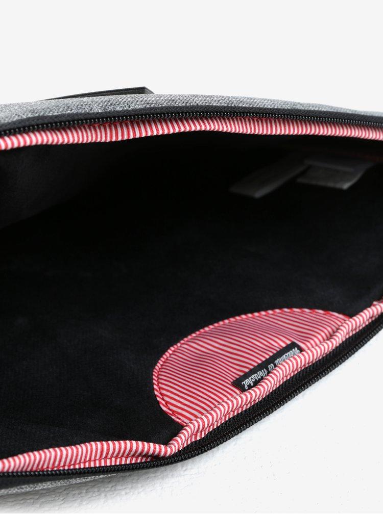 """Černo-šedý obal na notebook Herschel Heritage 13"""""""