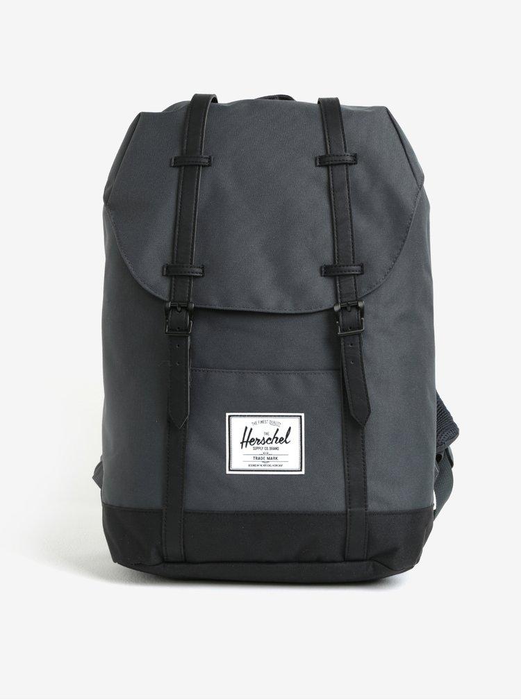 Tmavě zelený batoh Herschel Retreat 19,5 l