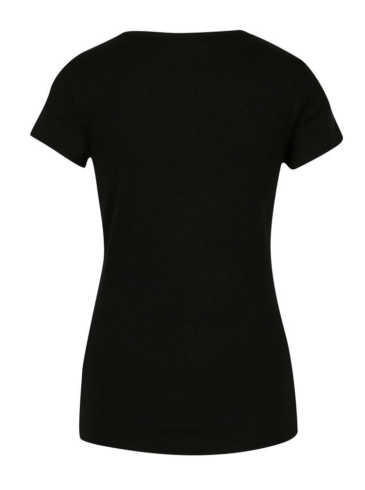 Černé basic tričko Dorothy Perkins