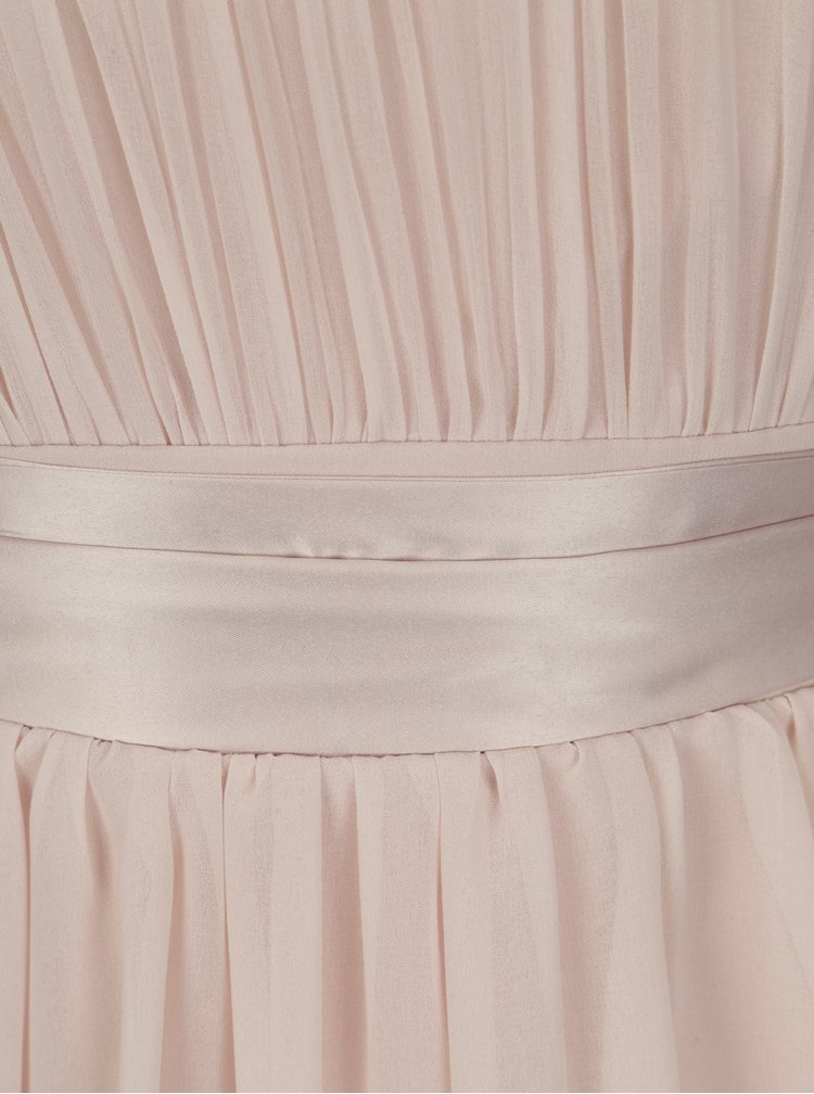 Rochie roz deschis cu cordon in talie - Dorothy Perkins