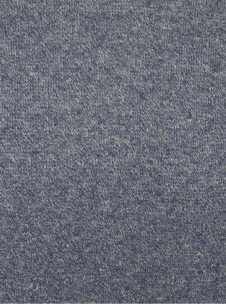 Modrý žíhaný lehký svetr Selected Homme Clash