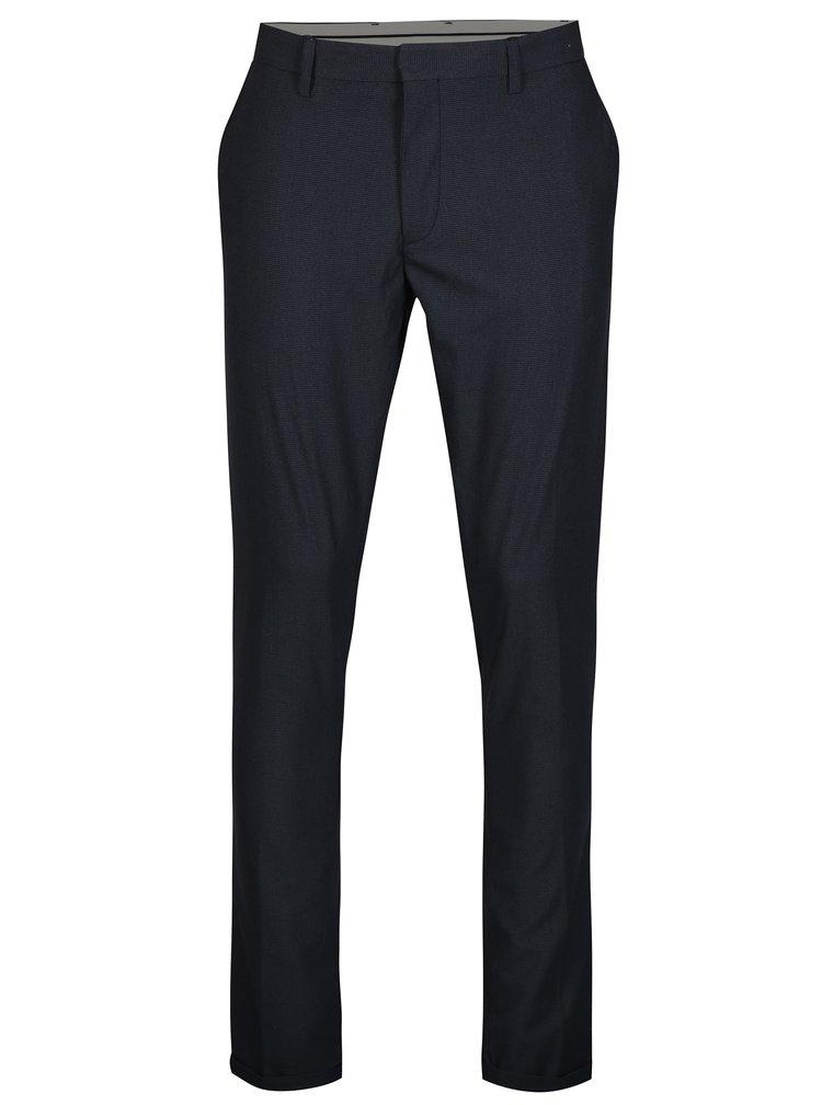 Tmavě modré kalhoty Selected Homme Skinny-Nate