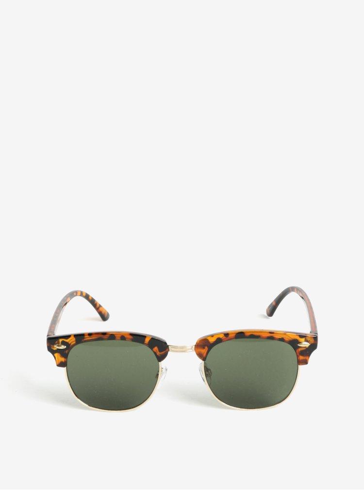 Černo-hnědé sluneční brýle Selected Homme Steven