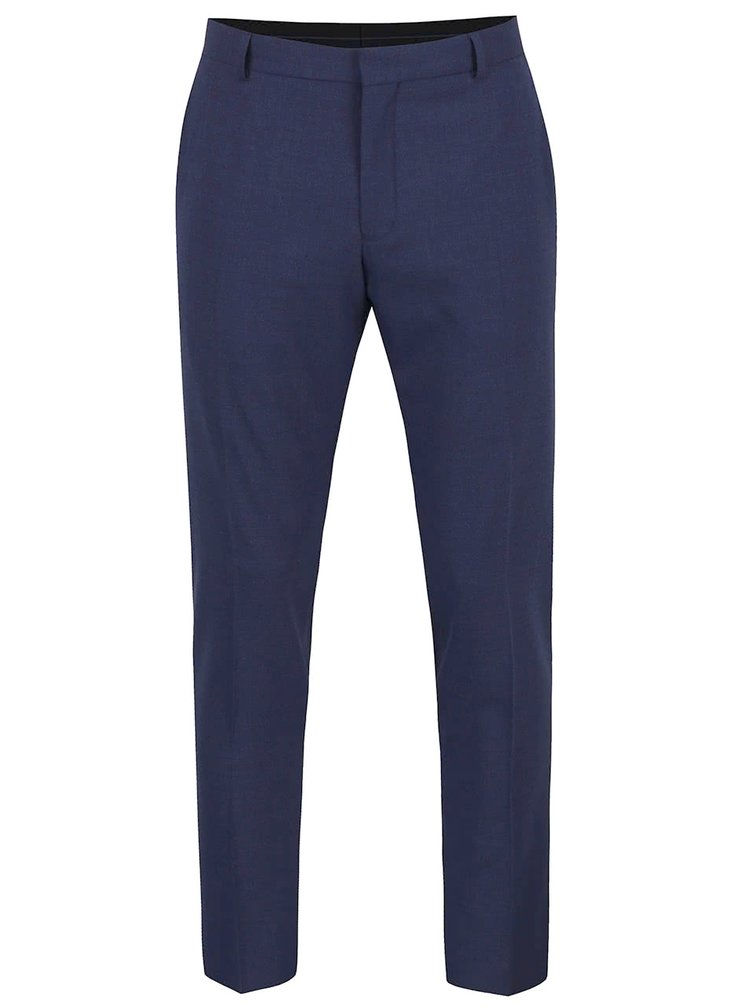Pantaloni albastru inchis Selected Homme One