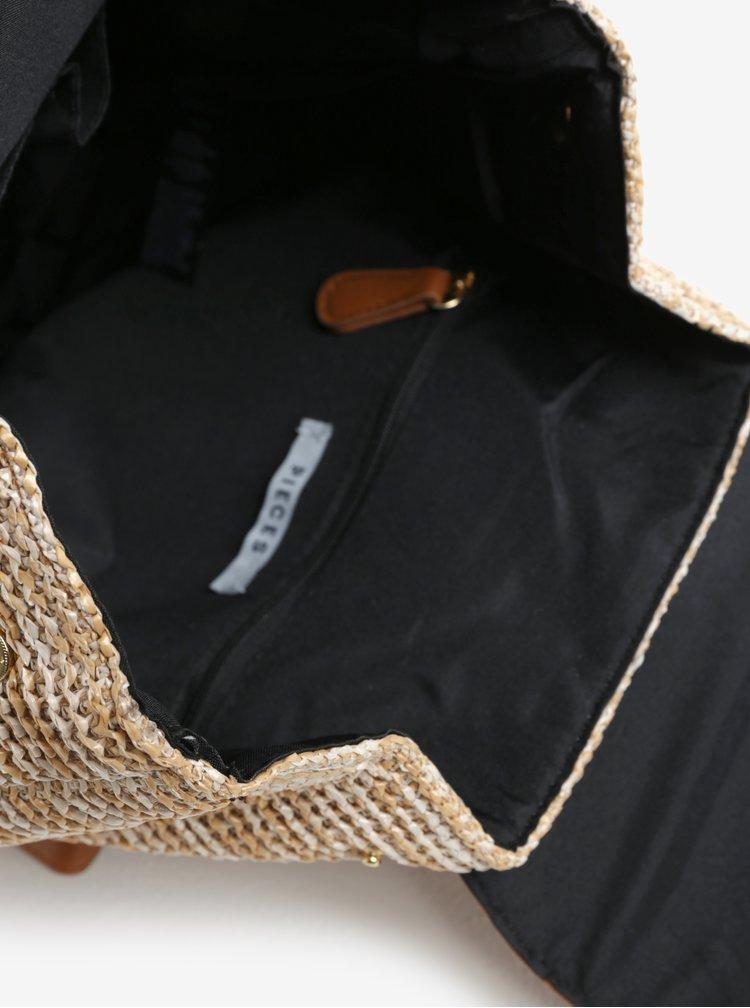 Svetlohnedý batoh Pieces Lana