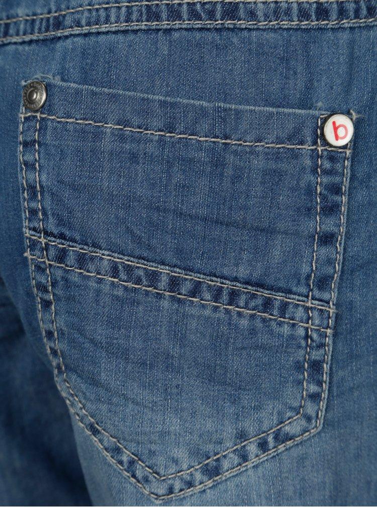 Modré klučičí džínové kraťasy BÓBOLI