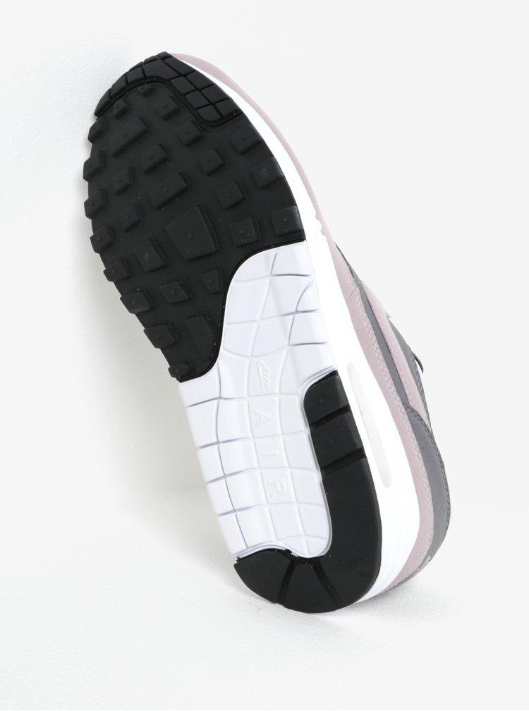 Šedo-růžové dámské tenisky Nike Air Max 1