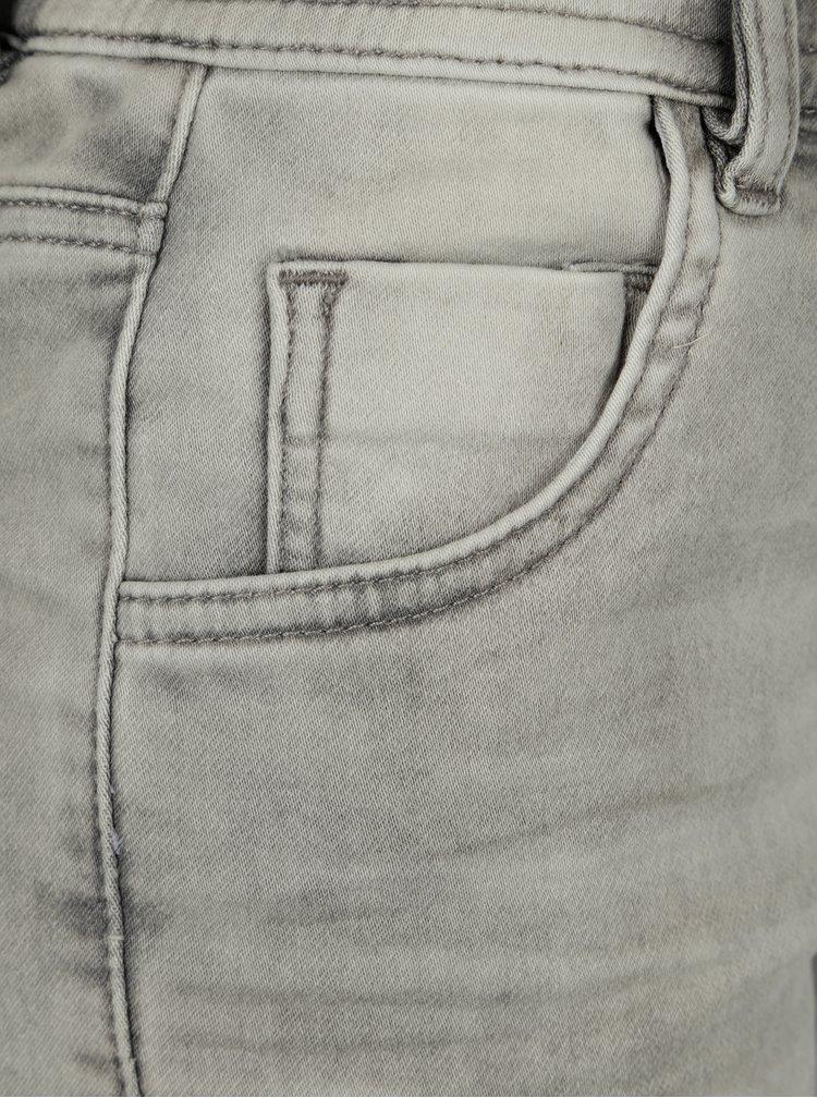 Světle šedé dámské loose fit džíny Cars Joggy
