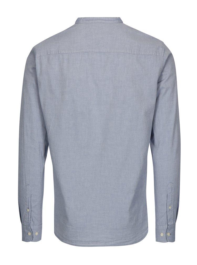 Světle modrá slim fit košile Jack & Jones Kevin