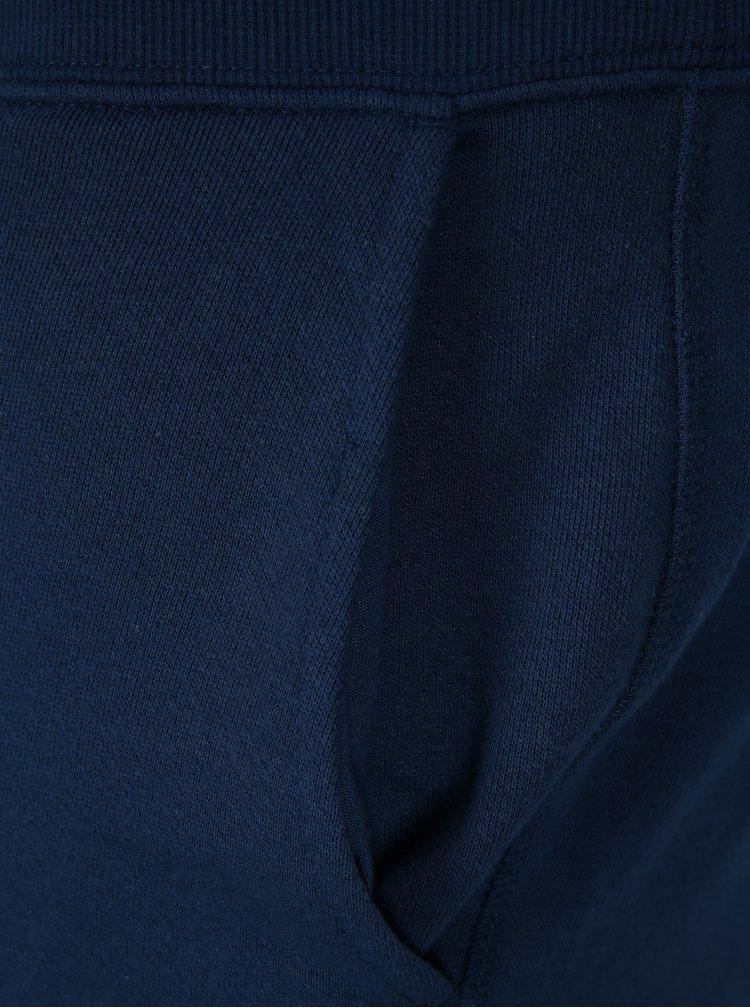 Modré teplákové kraťasy Jack & Jones Colour
