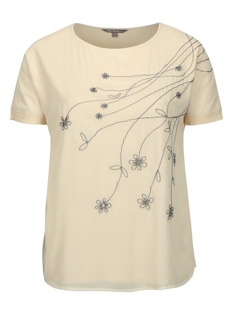 Tělové tričko s výšivkou Ulla Popken