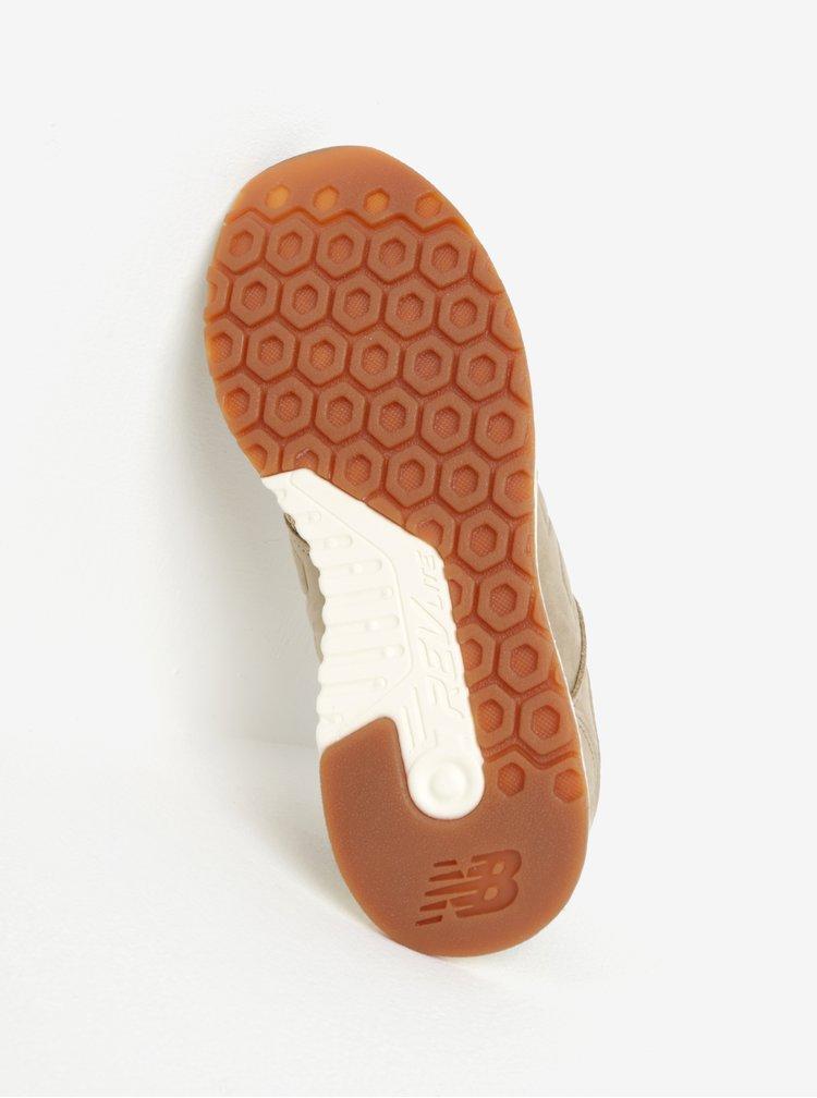 Pantofi sport bej cu perforatii pentru femei New Balance 247