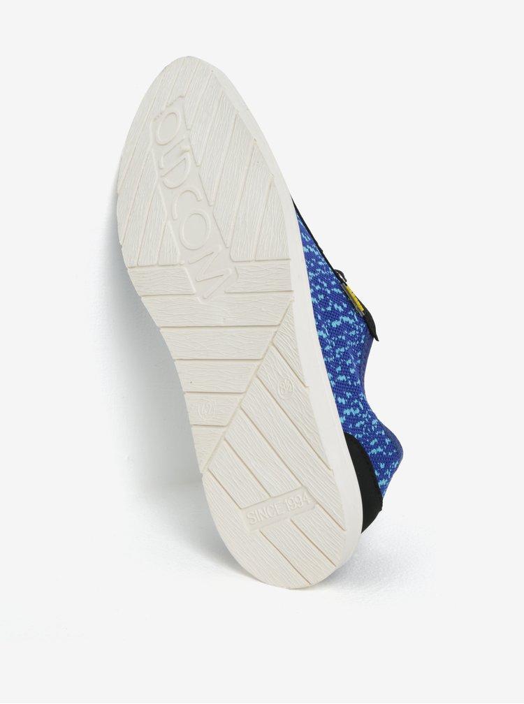 Modré pánské žíhané tenisky Oldcom Move