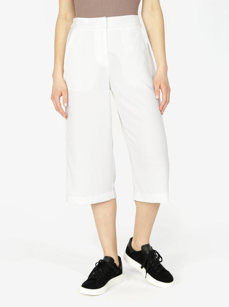 Krémové culottes s vysokým pasem VERO MODA Isabel