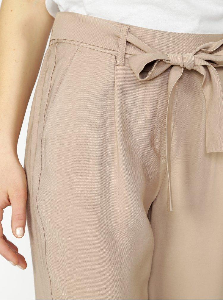 Pantaloni bej - VERO MODA Elke
