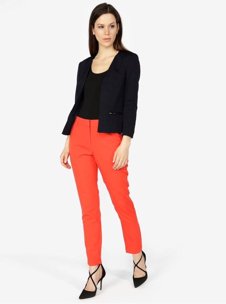 Červené formální kalhoty VERO MODA Ella