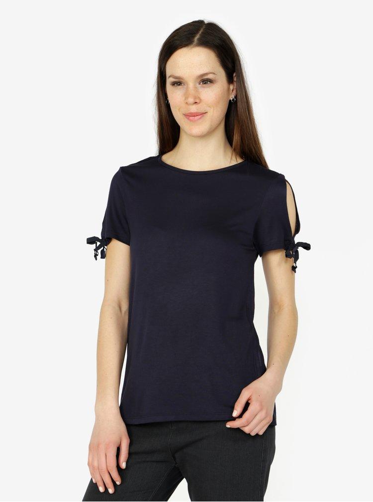 Tmavě modré tričko VERO MODA Jemia