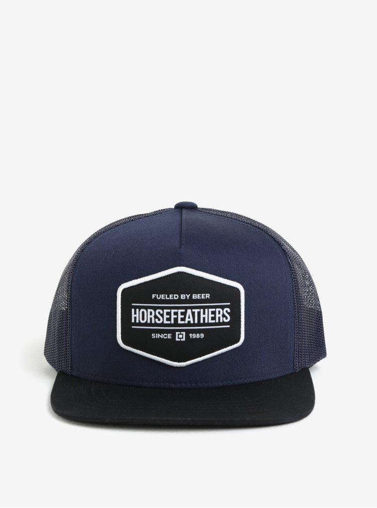 Tmavě modrá klučičí kšiltovka Horsefeathers Convoy