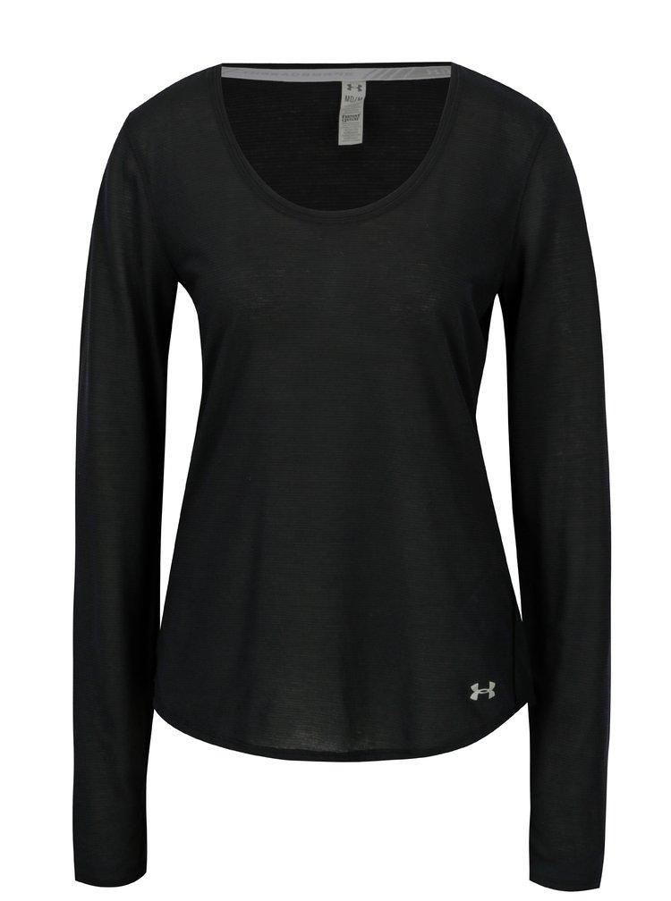 Černé dámské funkční tričko Under Armour Streaker