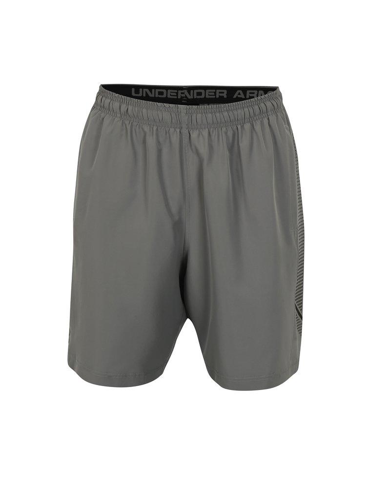 Pantaloi scurti sport gri  pentru barbati Under Armour Woven