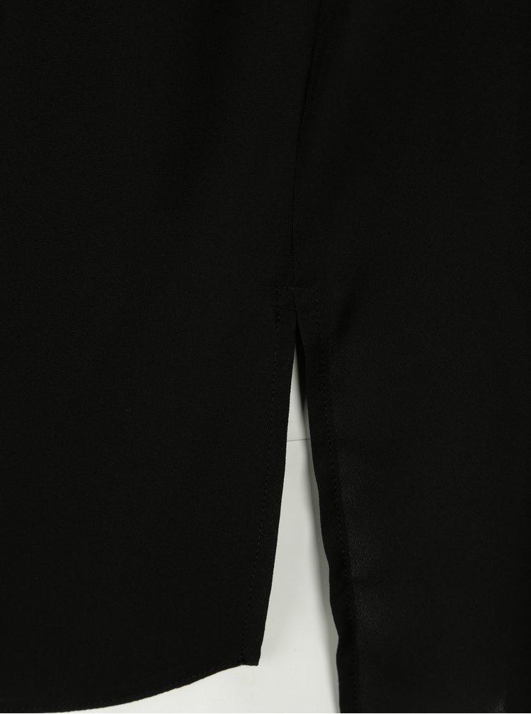 Černý top Dorothy Perkins Curve
